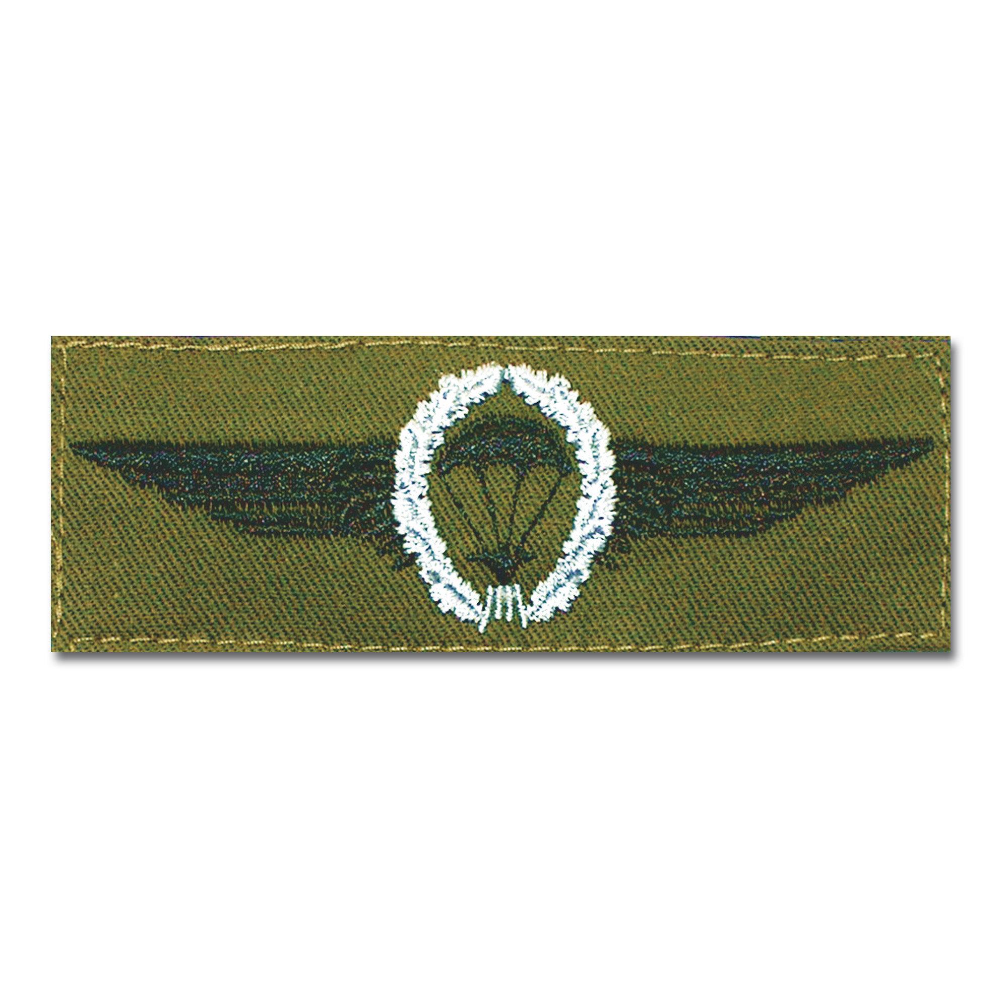 Abz. BW Fallschirmspringer silber/oliv