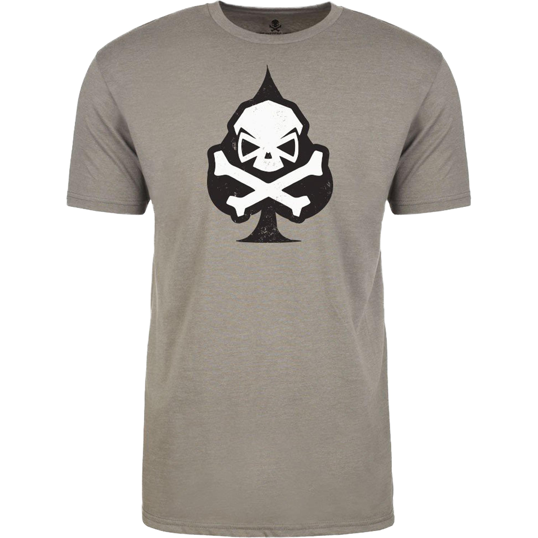 Pipe Hitters Union T-Shirt Ace of Spades grau