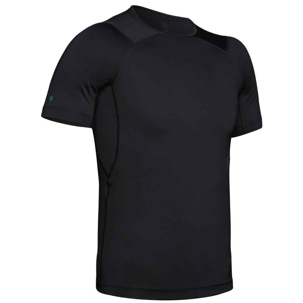 Under Armour Shirt Rush Compression SS schwarz