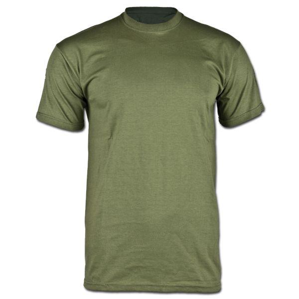 BW Unterhemd Tropen ohne Klett oliv