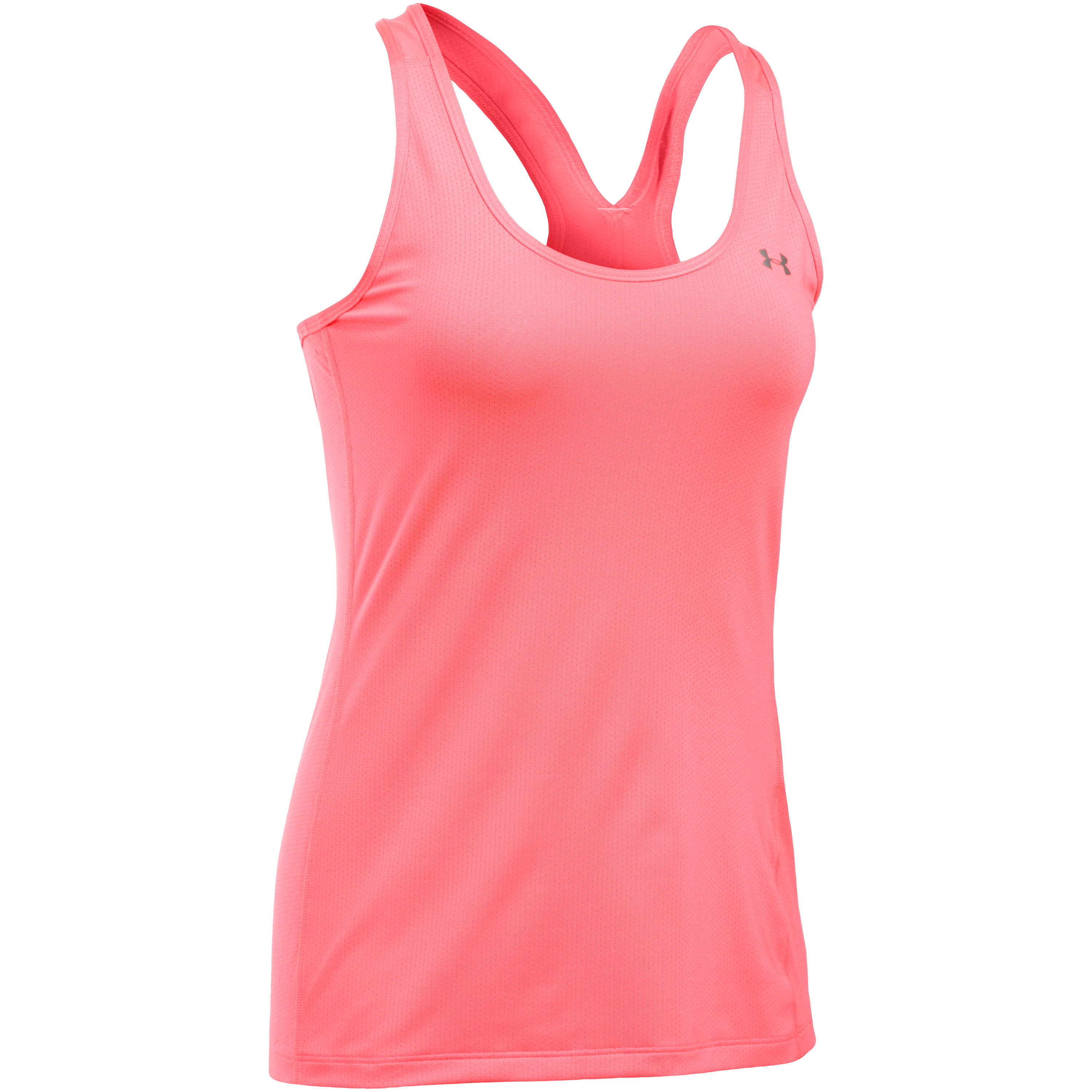 Under Armour Women Tanktop HeatGear Armour Racer rosa