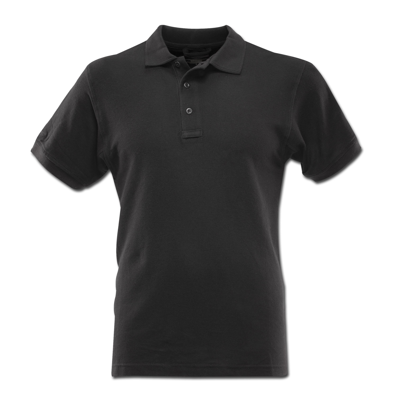 Polo Shirt Tru Spec kurzarm schwarz