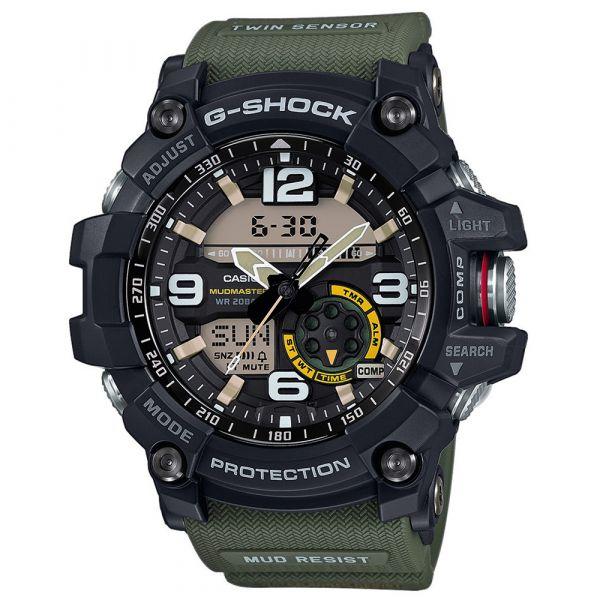Casio Uhr G-Shock Mudmaster GG-1000-1A3ER schwarz oliv