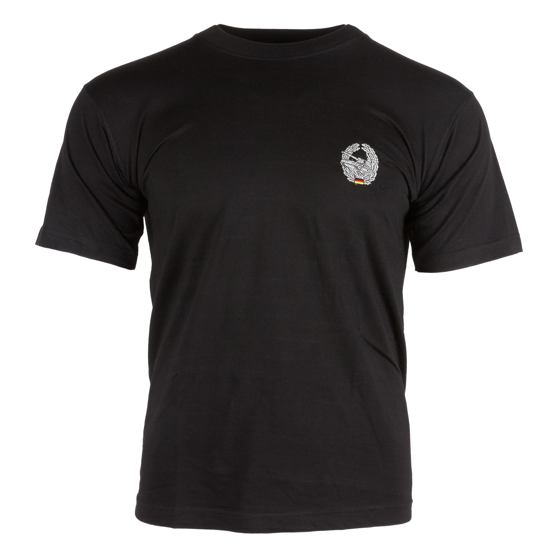 T-Shirt bestickt mit Barettabzeichen Panzertruppe