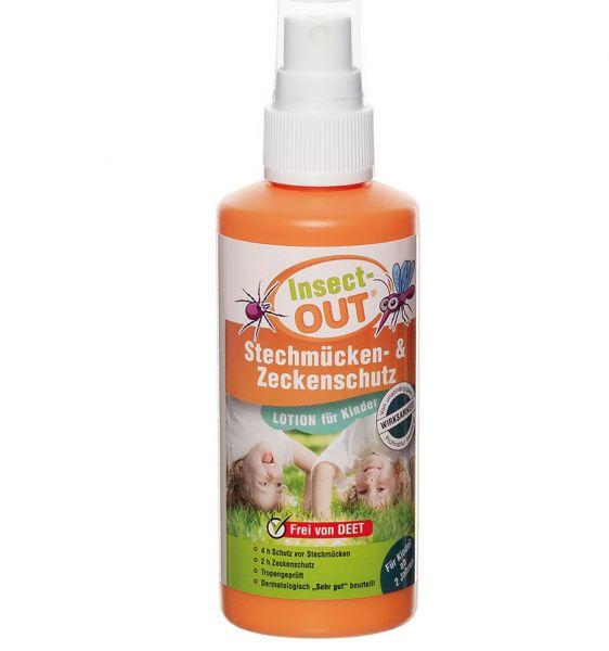 MFH Spray Insect-OUT Stechmücken- und Zeckenschutz Kinder 100 ml
