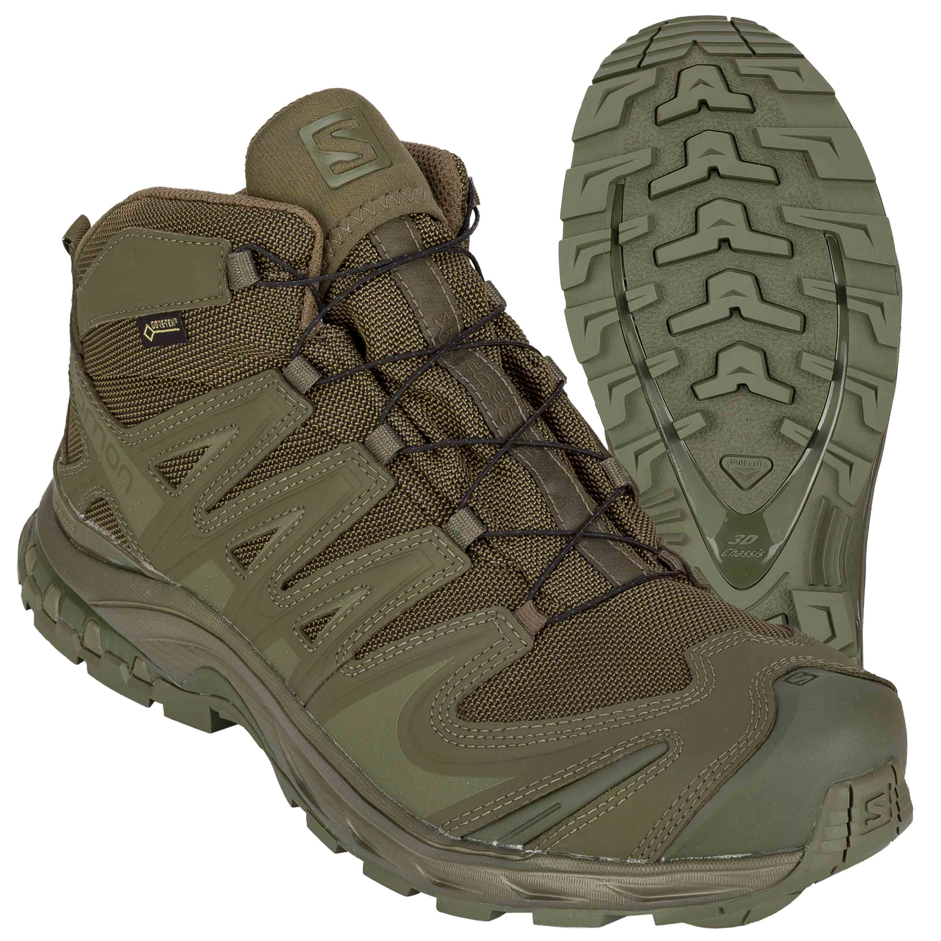 Salomon Schuhe XA Forces Mid GTX ranger green