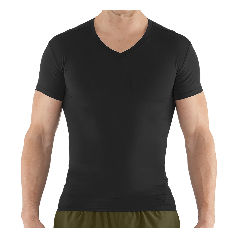 Under Armour Tactical Shirt Heatgear Comp V schwarz