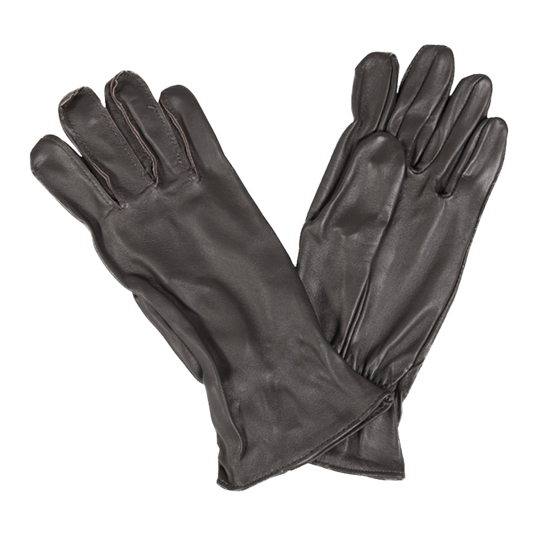 US Fingerhandschuhe Leder braun neuwertig
