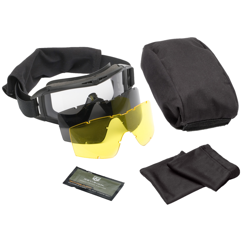 Revision Brille Desert Locust Mission Kit schwarz gelbe Scheibe