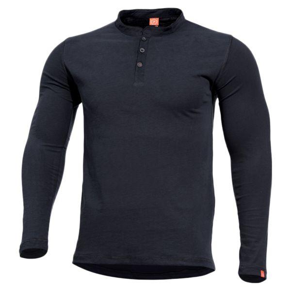Pentagon Shirt Romeo Henley schwarz