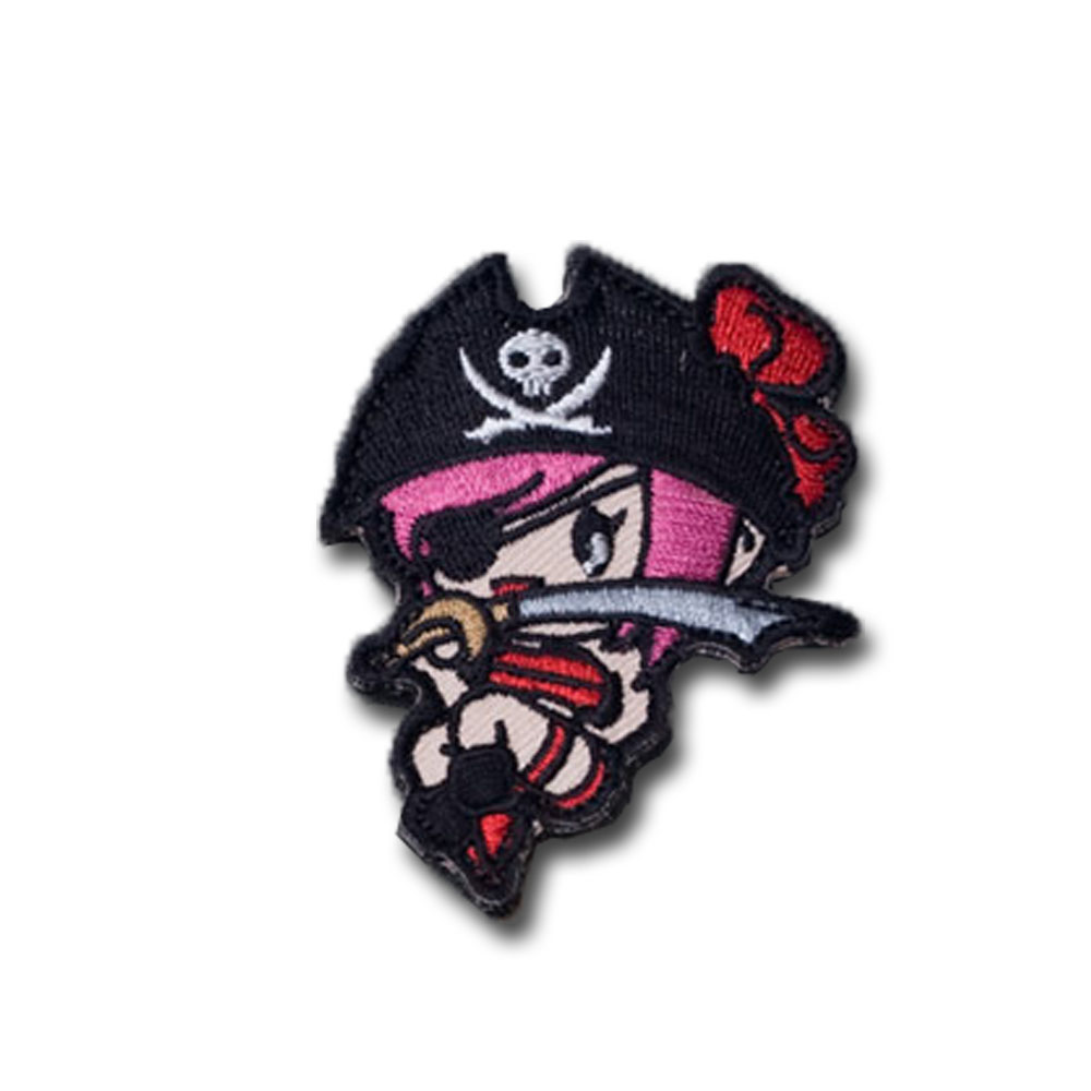 MilSpecMonkey Patch Pirate Girl gothy