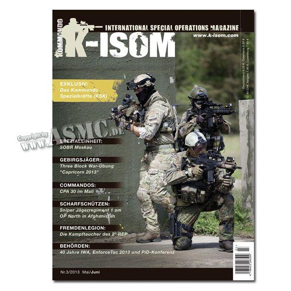 Kommando Magazin K-ISOM Ausgabe 03-13