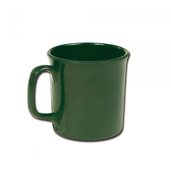 Becher Melamin grün