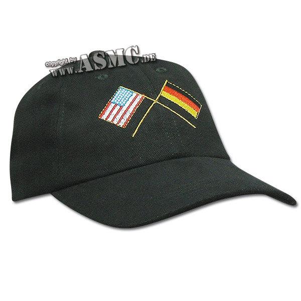 Baseball Cap USA-DEU Flaggen