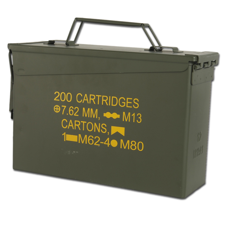 US Ammo Box M19A1 Cal. 30 Import oliv