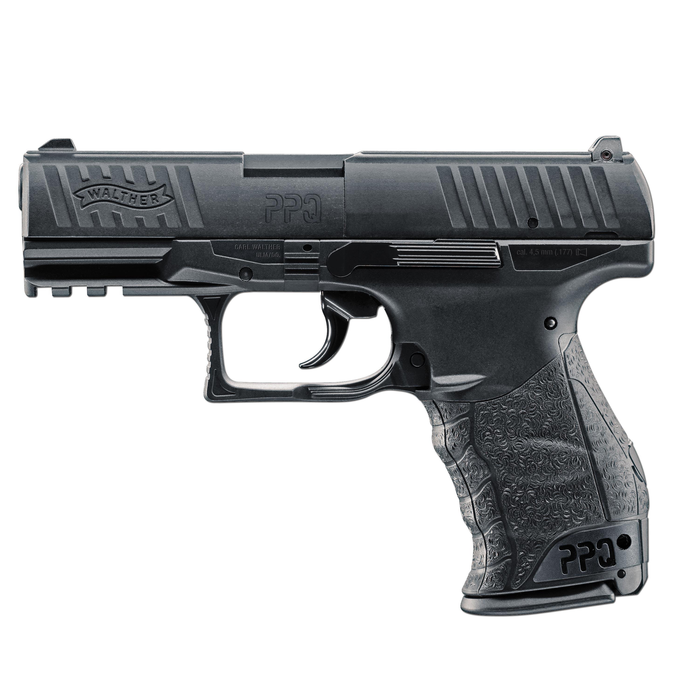 Pistole Walther PPQ CO2 schwarz