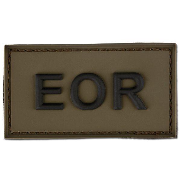 3D-Patch EOR - Explosive Ordnance Reconaissance oliv/schwarz
