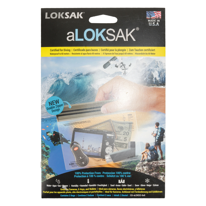 aLoksak 2-er Pack 16.5 x 11.4 cm