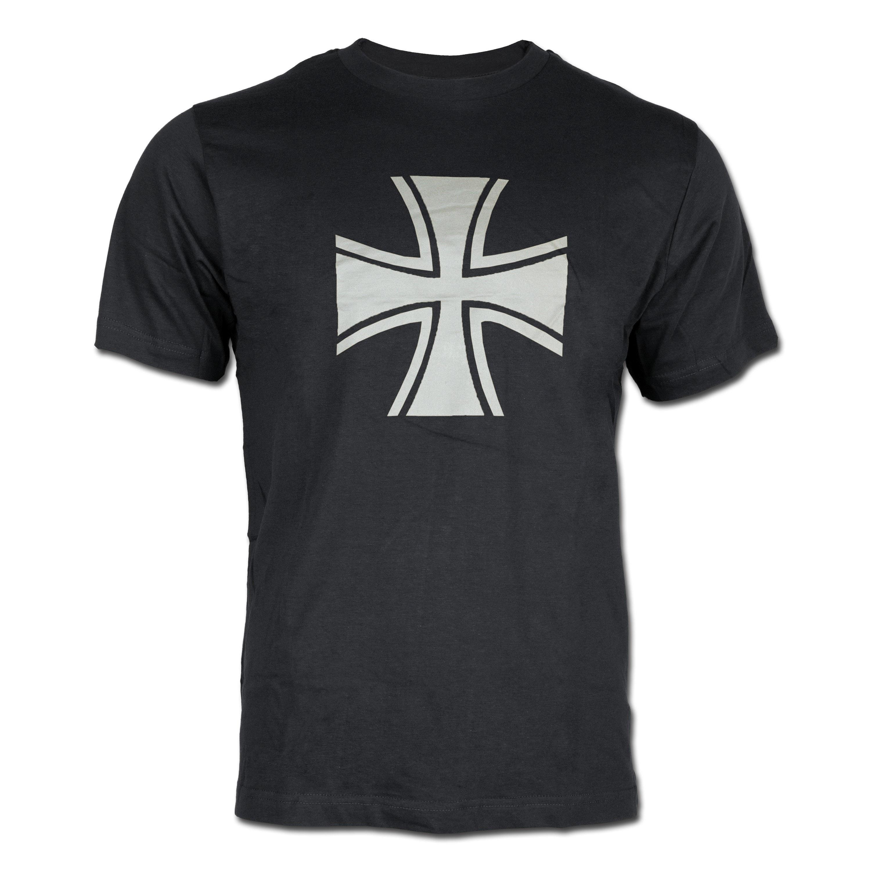 T-Shirt Eisernes Kreuz schwarz