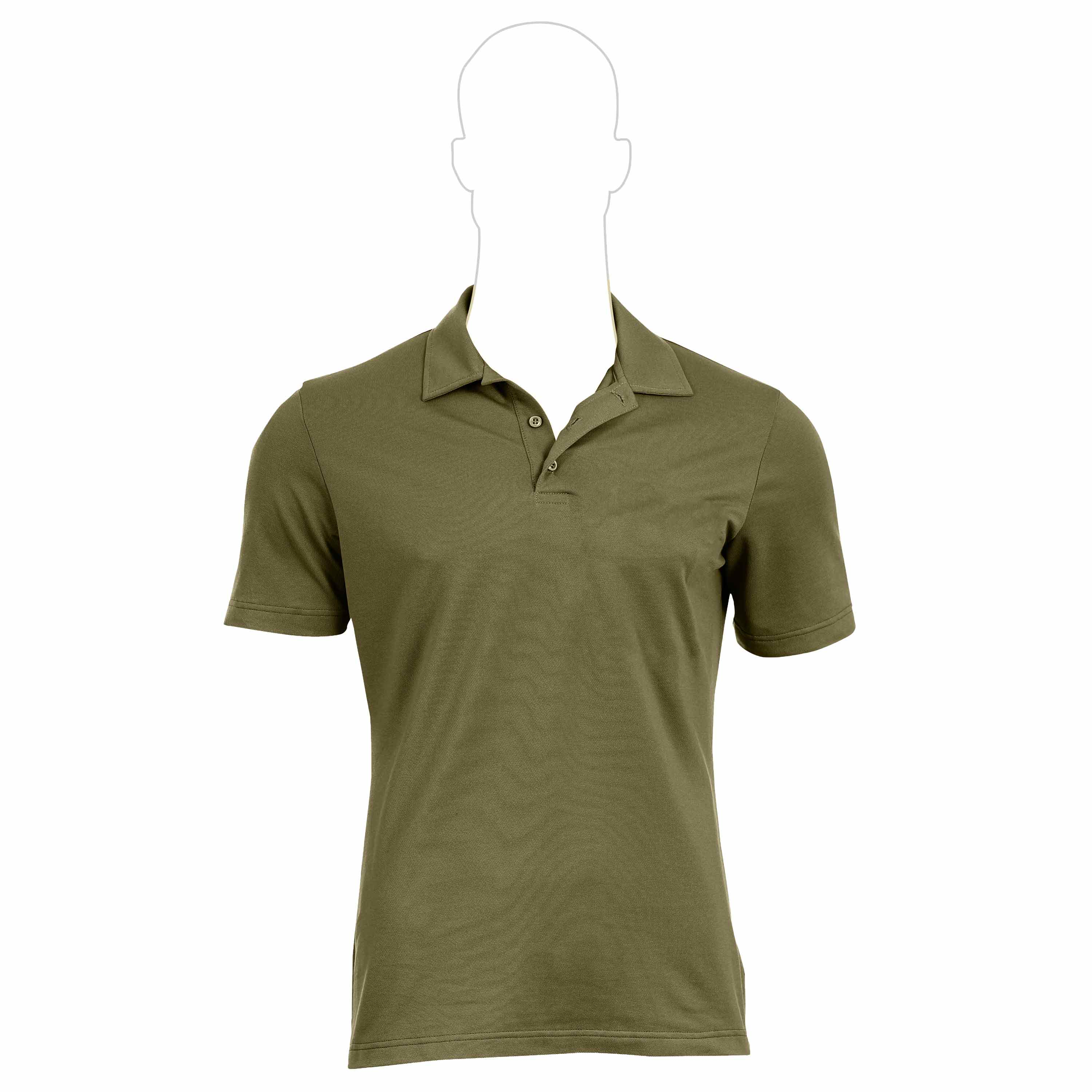 UF Pro Polo Shirt chive green