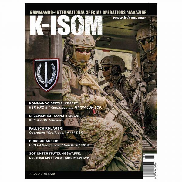 Kommando Magazin K-ISOM Ausgabe 05-2019