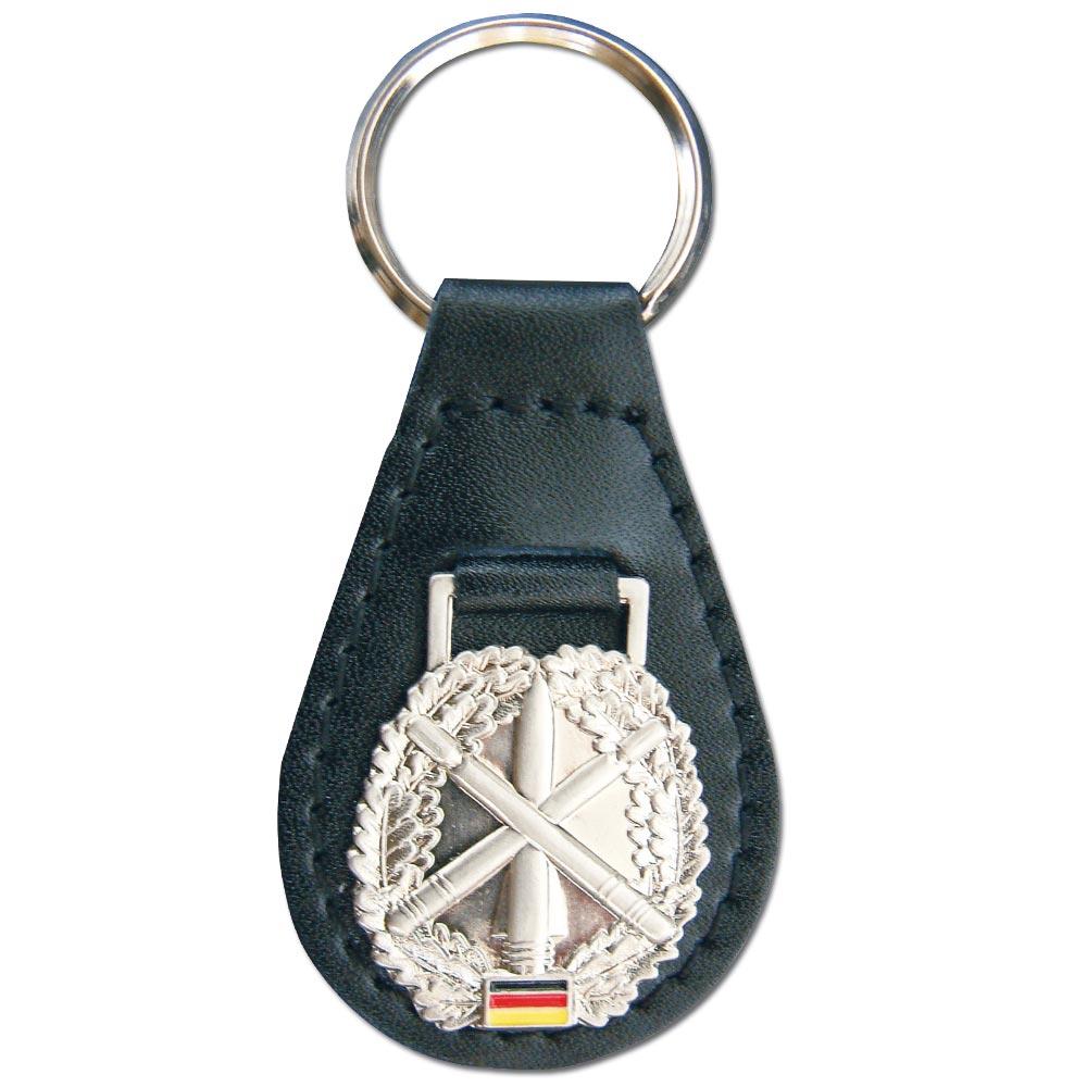 Schlüsselanhänger mit Barettabz. Heeresflugabwehr