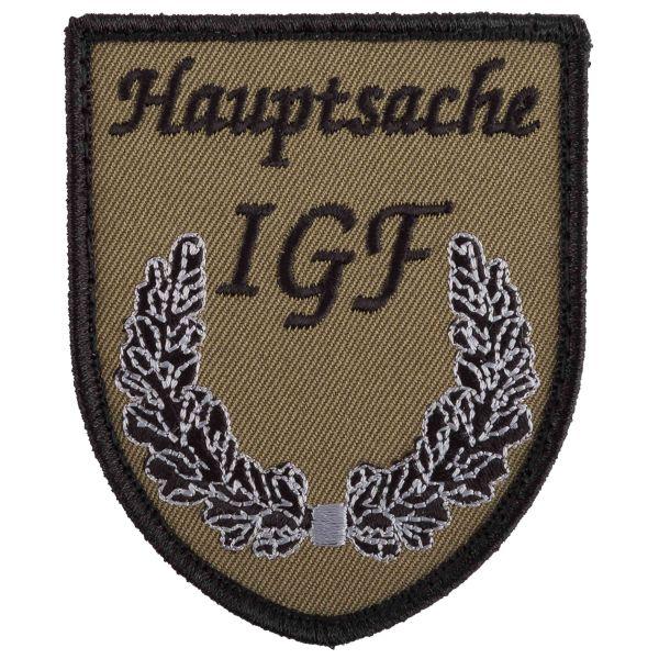 Café Viereck Patch Hauptsache IGF