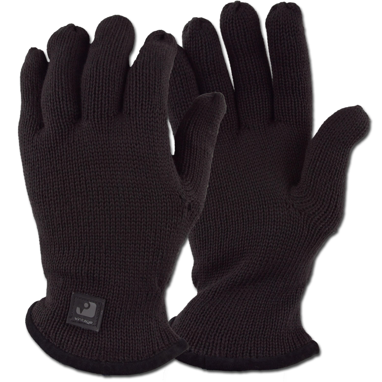 Strickhandschuh Vintage Industries Sonic Glove schwarz