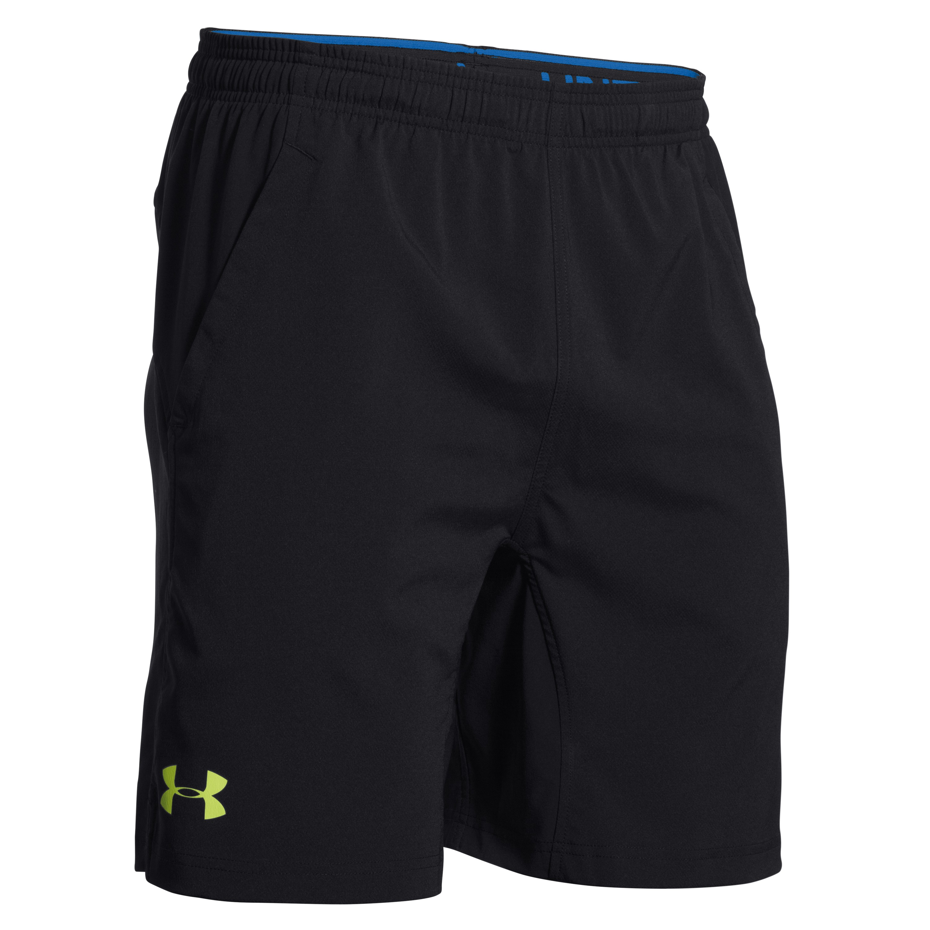 Under Armour Shorts HIIT schwarz-gelb