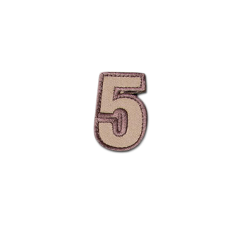 MilSpecMonkey Patch Tac Number 5 desert