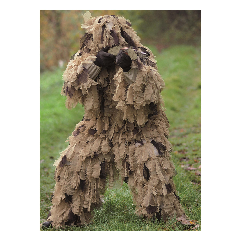 Ghillie Suit Oak Leaf 3D desert