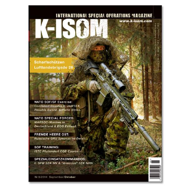 Kommando Magazin K-ISOM Ausgabe 5/2014