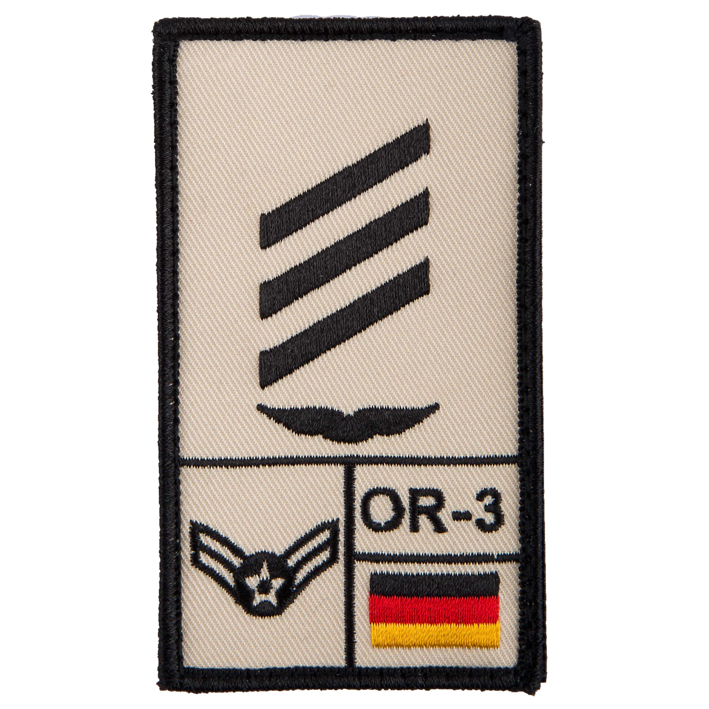 Café Viereck Rank Patch Hauptgefreiter Luftwaffe sand