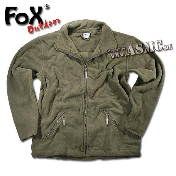 Fleecejacke Fox Arber oliv