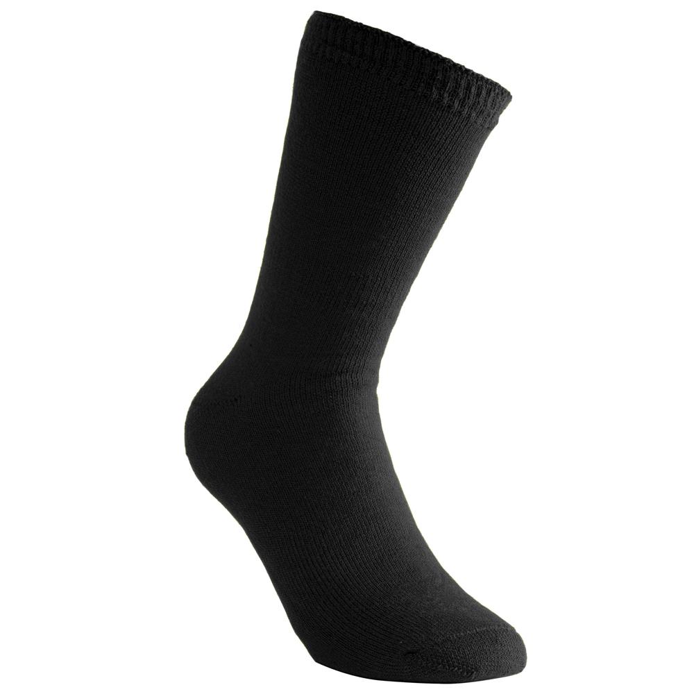Woolpower Socken Classic 400 schwarz