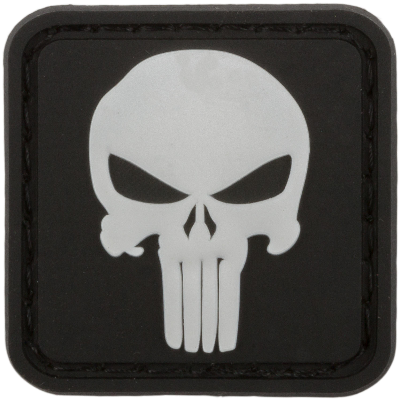 3D Patch Punisher Skull schwarz