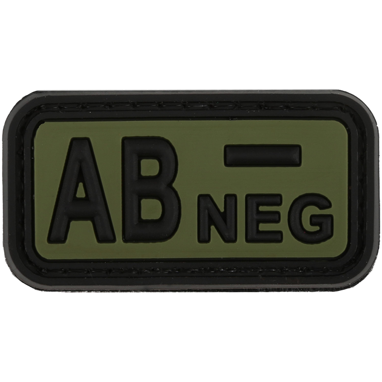 TAP 3D Blutgruppenpatch AB Neg forest
