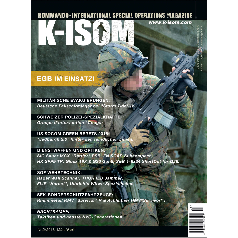 Kommando Magazin K-ISOM Ausgabe 02-2018