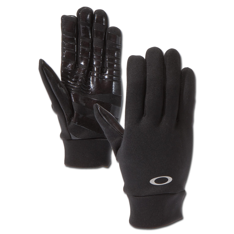 Handschuh Oakley Midweight Fleece schwarz