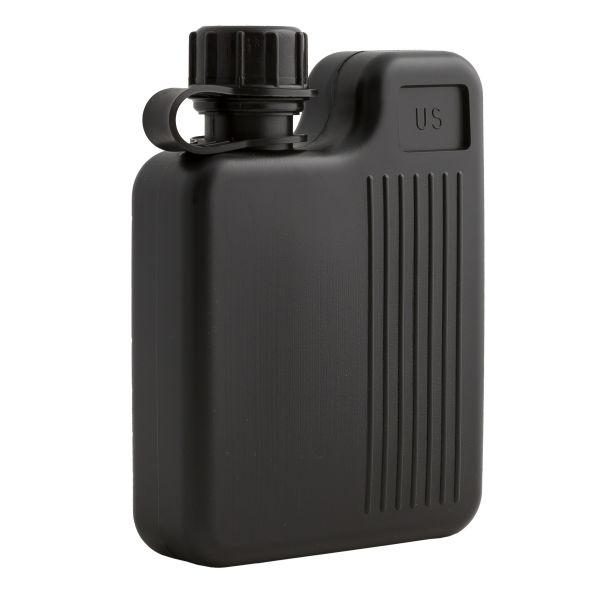 Feldflasche Backpack Canteen 1 L schwarz