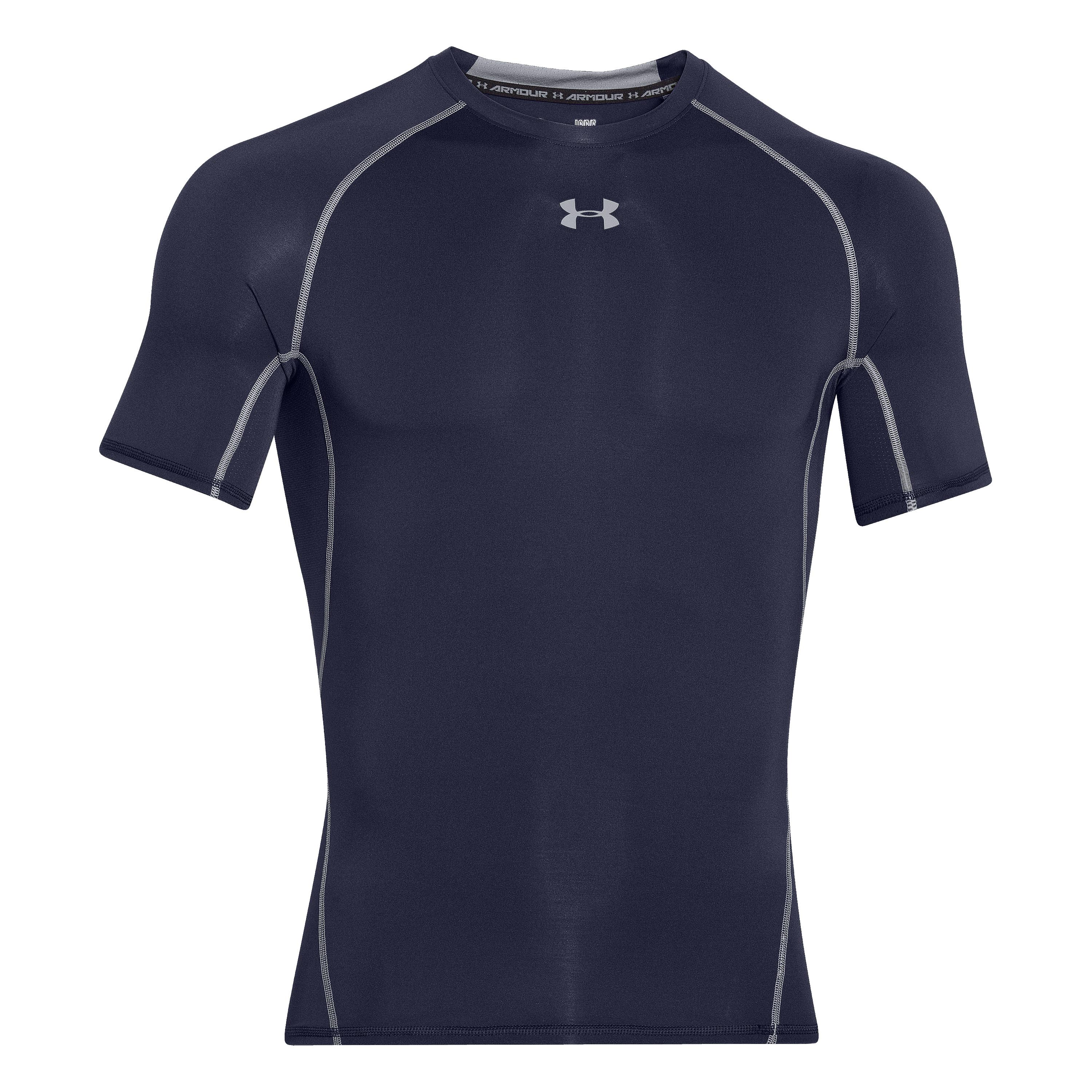 Under Armour HeatGear Compression Shortsleeve dunkelblau