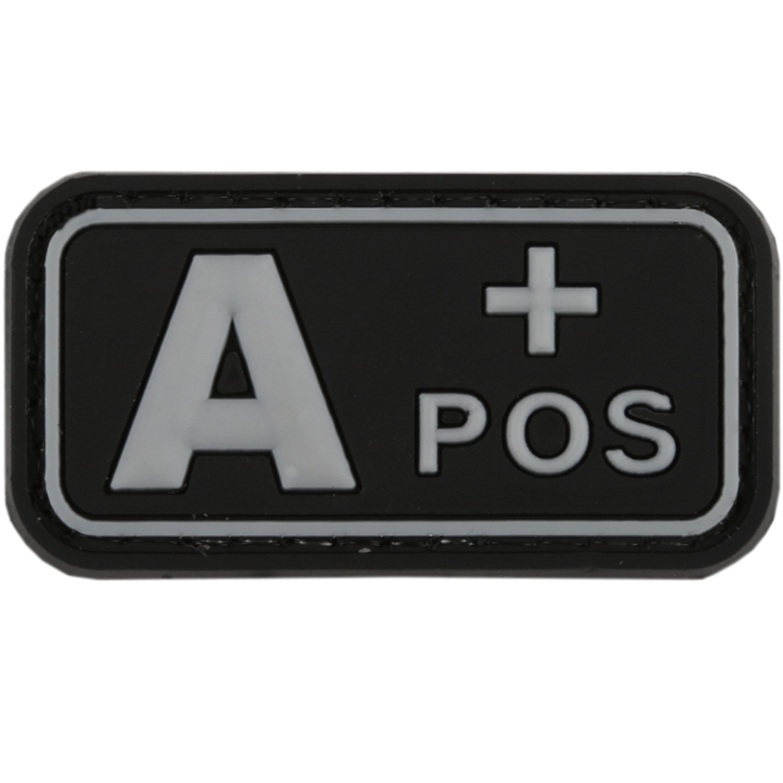 TAP 3D Blutgruppenpatch A Pos swat