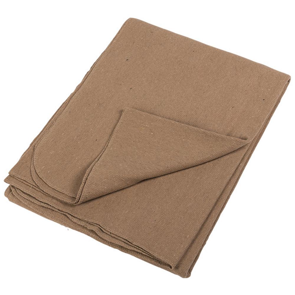 Decke Katastrophenschutz gewalzt khaki neuwertig