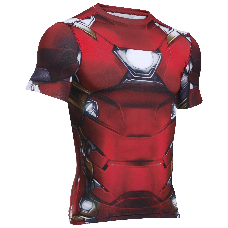 Under Armour Shirt Iron Man Suit