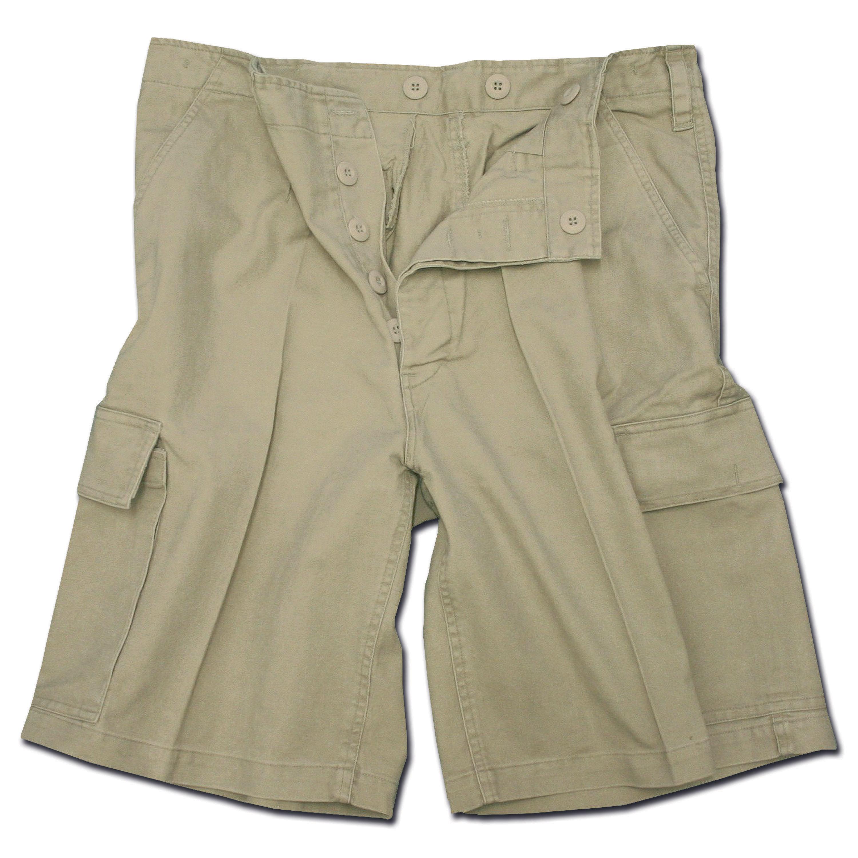 Moleskin Shorts Mil-Tec khaki