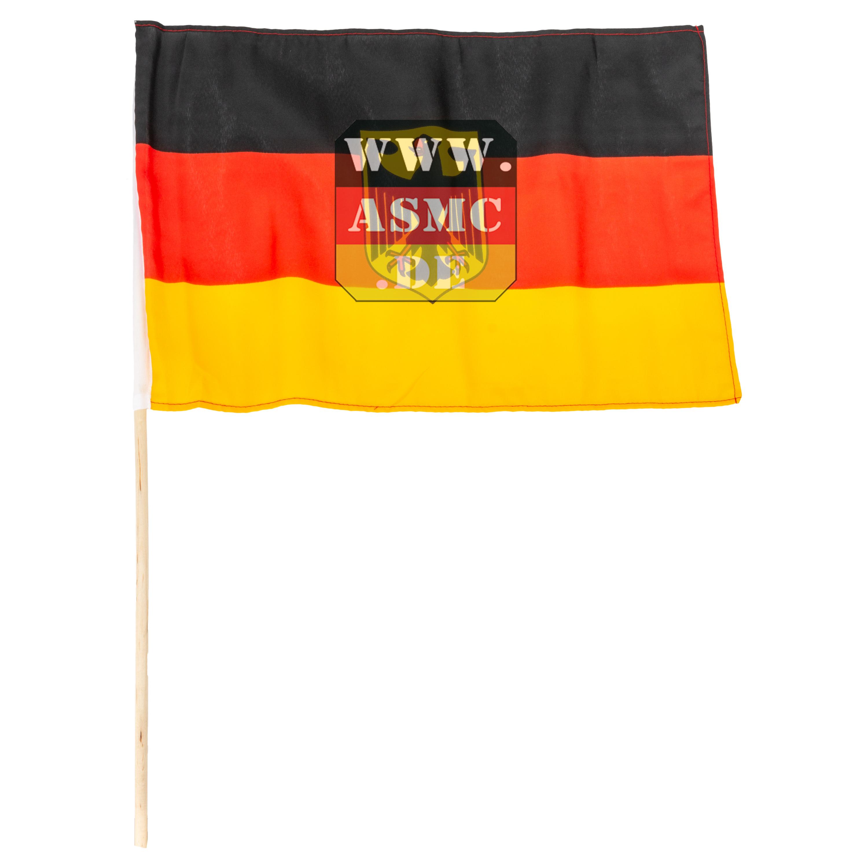 Handflagge 45x30 Deutschland mit Adler