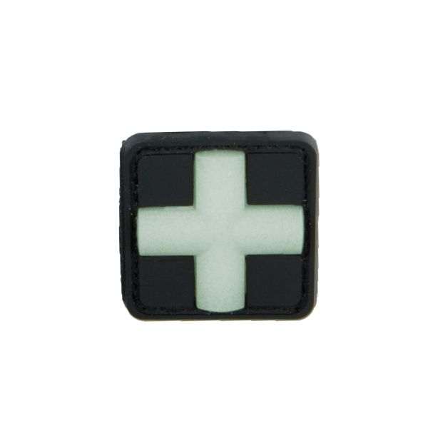 3D-Patch Red Cross Medic glow in the dark 25 mm
