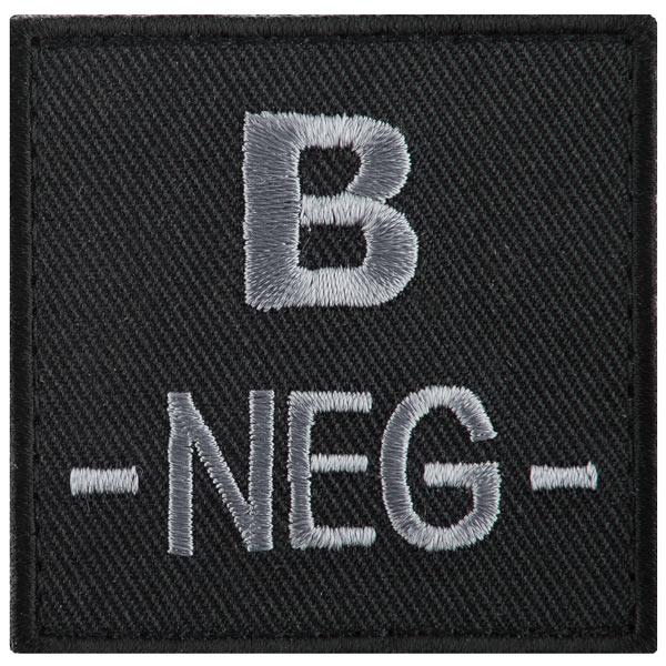 Blutgruppe O Negativ