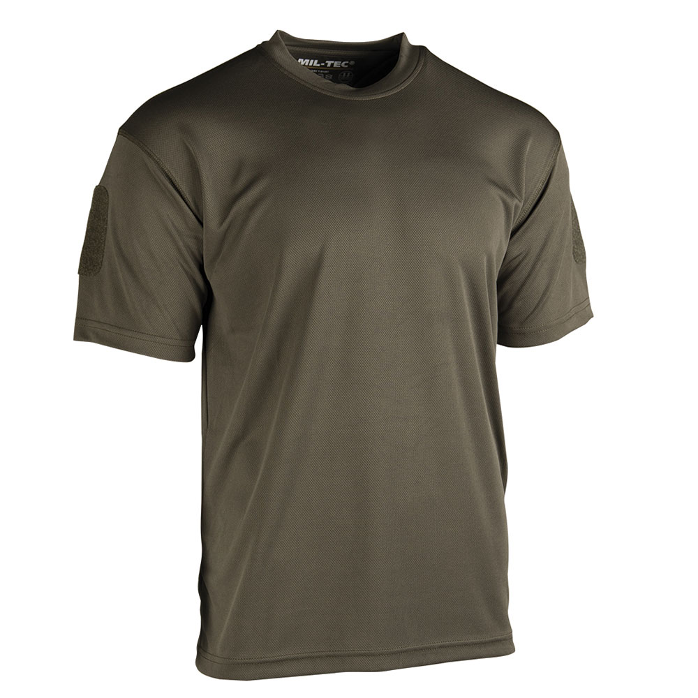 T-Shirt Tactical Quickdry oliv