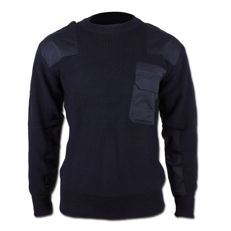 BW Pullover blau neu